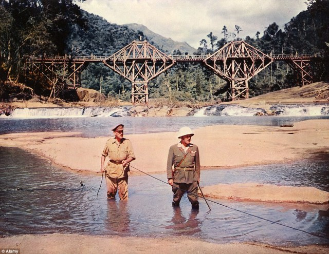 a central theme of madness in the bridge on the river kwai